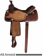 "** SALE **14"" to 16"" Billy Cook Ladies All Around Saddle 2040"