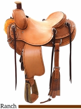 "14"" to 16.5"" Reinsman Association Ranch Saddle 4617 w/$210 Gift Card w/Free Pad"