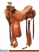 "14"" to 16.5"" Reinsman Lady Wade Ranch Saddle 4612 w/$210 Gift Card"