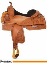 "15"" to 17"" Reinsman Reining Saddle 4763 w/$210 Gift Card w/Free Pad"