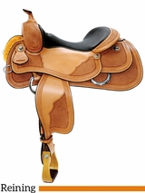 "15"" to 17"" Reinsman Reining Saddle 4764 w/$210 Gift Card"