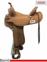 "14"" to 16"" Billy Cook Barrel Racing Saddle 1934"