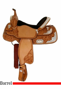 """14"""" to 16"""" Billy Cook Silver Barrel Racer 2000"""