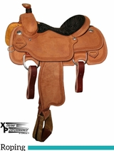 "** SALE **14"" to 16"" Circle Y Xtreme Performance UC Calf Roper Saddle 1253"