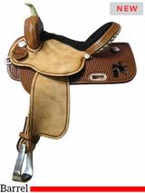 "14"" to 16"" South Bend Saddle Co Barrel Saddle 213BR"
