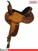 "14"" to 16"" South Bend Saddle Co Revolutionary Barrel Saddle 3726"