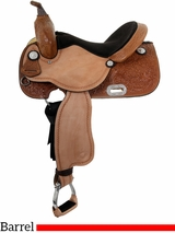 "** SALE **14"" Tex Tan Barrel Chaser Barrel Saddle 292223"