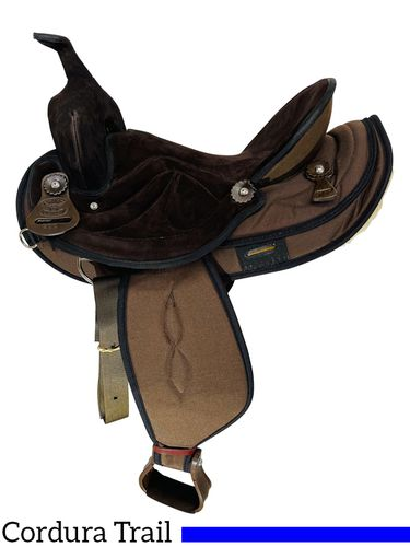 """15"""" to 17"""" Big Horn Synthetic Saddle 500 501 502"""