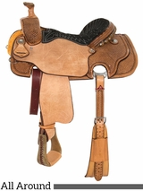 "** SALE **14"" to 16"" Circle Y All Around Saddle 2164"