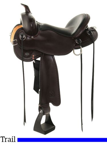 "14"" to 18"" Circle Y Blackfoot Flex2 Trail Saddle 2381"