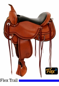 Circle Y Pioneer Flex2 Trail Saddle 1665 w/Free Pad