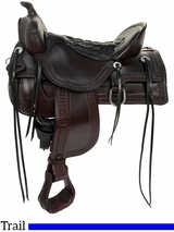 Tucker Saddles Old West Trail Saddle 277