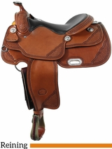 "** SALE **15"" to 17"" Billy Cook Classic Reiner Saddle 9602"
