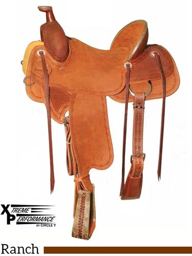 "** SALE **15"" to 18"" Circle Y XP Baxter Ranch Saddle 1119"