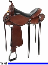 "** SALE **15"" to 17"" Cashel Western Trail Saddle, Reg or Wide Tree"