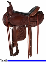 "15"" to 17"" Dakota Custom Haflinger Saddle 2214"