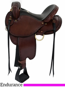 "15"" to 17"" Dakota Endurance Trail Saddle 313"