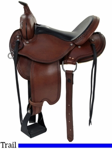 "** SALE **15"" to 17"" Dakota Flex Tree Trail Saddle 213"