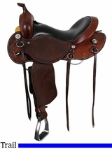 "15"" to 17"" Roughout Cashel Trail Saddle, Reg or Wide Tree"