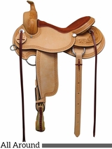 "** SALE **15"" 16"" 17"" South Bend Saddle Co All Around Work & Trail Saddle 1124"