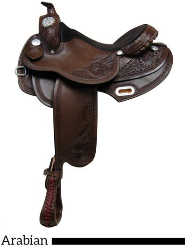 "15"" 16"" 17"" South Bend Saddle Co Arabian Trail Saddle 1931"