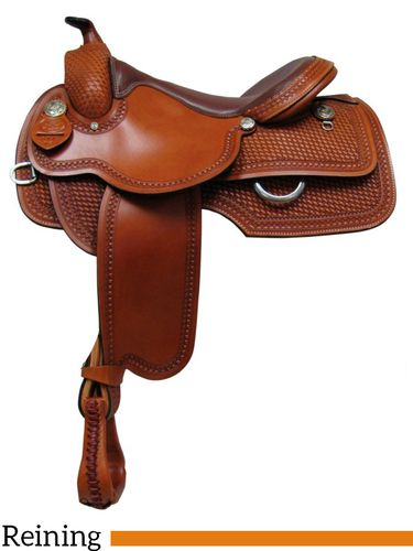 "15"" 16"" 17"" South Bend Saddle Co Reining Saddle 811"