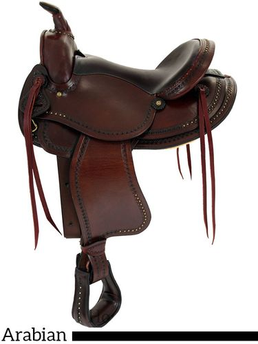 "15"" 16"" American Saddlery Austin Arabian II Saddle 921"