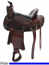 "** SALE **15"" 16"" American Saddlery The Mule Tamer Saddle 1740"