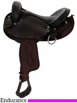 "15"" 16"" Big Horn Center Fire Endurance Saddle 117 118 119 120"