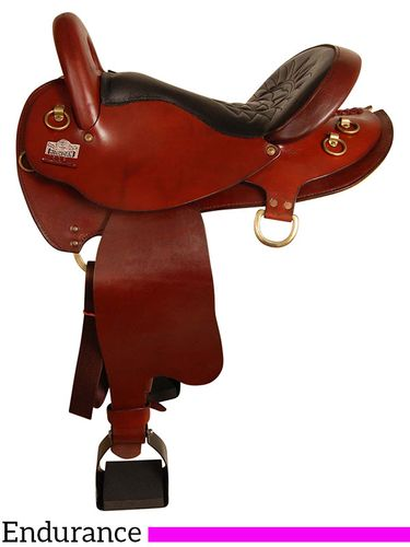 "17"" Big Horn Endurance Saddle 4682"