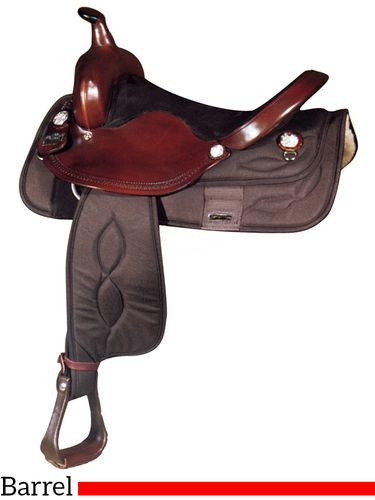 "15"" 16"" Big Horn Synthetic Barrel Saddle 282 281"
