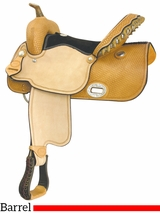 "16"" Billy Cook Flex Wide Racer Barrel Saddle 291267"