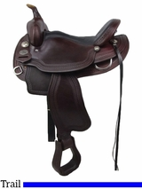 "15"" 16"" Crates Light Ladies Competition Trail Saddle 2172"