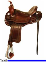 "** SALE **15"" 16"" Crates Light Ladies Competition Trail Saddle 2172"