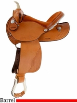 "14"" to 16"" Dakota Barrel Racing Saddle 910j"