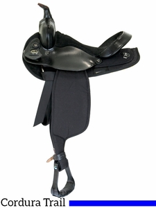 "15"" 16"" Fabtron Black Suede Seat Cordura Saddle 7101 7105 w/$55 Gift Card"