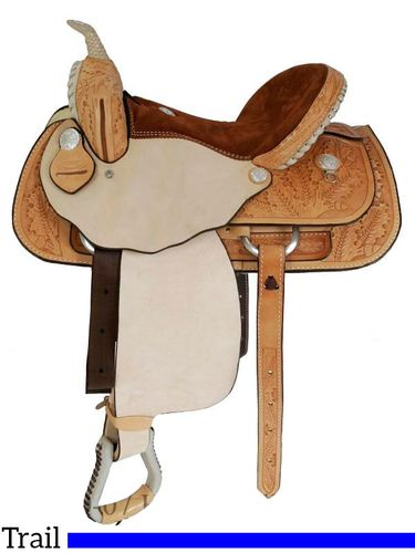 "15"" to 17"" Dakota Light Oil Pleasure Trail Saddle 355"