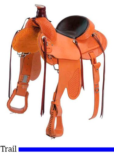 "SOLD OUT 15"" to 17"" Colorado Saddlery LR Trail Special Saddle 300-6341"