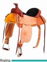 "15"" to 17"" Colorado Saddlery's Red Cloud Roper Saddle 200-3356-4356"