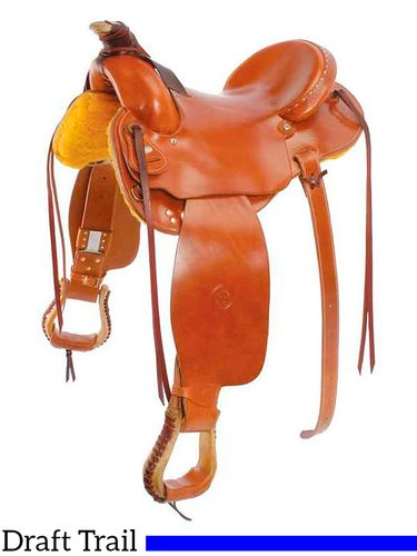 """SOLD OUT 15"""" to 17"""" Colorado Saddlery's The """"XXL"""" Saddle 400-6001"""