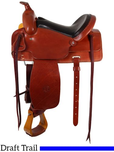 "SOLD OUT 15"" to 17"" Colorado Saddlery's The ""XXL"" Trail 400-6002"