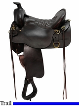 "15.5"" High Plains Tucker Trail Saddle 260"