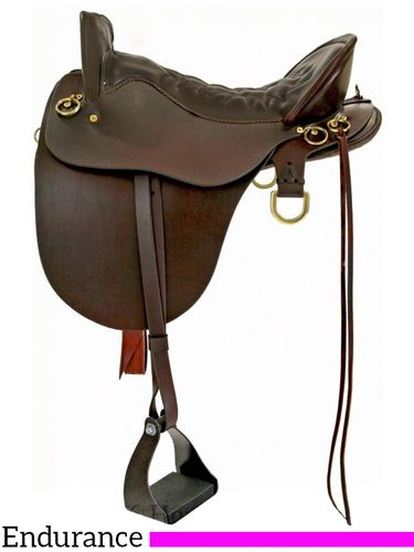 "15.5"" Tucker River Plantation Saddle 146 w/Free Pad"