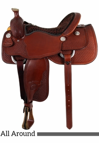 """15.5"""" 16"""" Billy Cook All Around Saddle 6500"""
