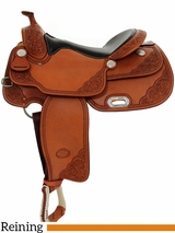 "** SALE **15"" to 17"" Billy Cook VC Reiner Saddle 9603"