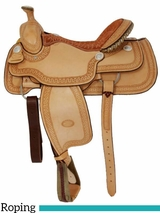 "** SALE **15"" 16"" Billy Cook Arena Roping Saddle 2144"