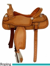 """15"""" to 17"""" Billy Cook Roping Saddle 2121"""