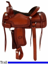 """15.5"""" to 17"""" Billy Cook Porter Trail Saddle 1837"""