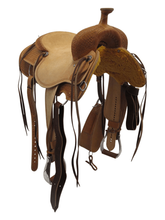 """15.5"""" Circle Y Xtreme Performance Dodge Cowhorse Ranch Sorter Saddle 1389, CLEARANCE"""