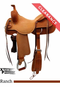 "15.5"" Circle Y Xtreme Performance Dodge Cowhorse Ranch Sorter Saddle 1389, CLEARANCE"